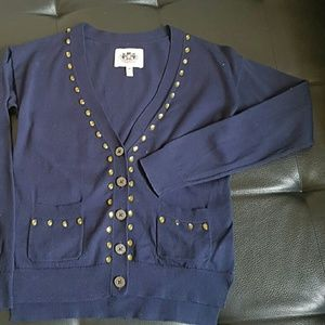 Juicy Couture navy cardigan M